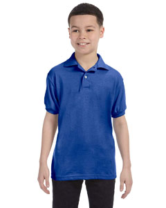 Youth  5.5 oz., 50/50 EcoSmart® Jersey Knit Polo