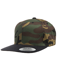 Yupoong 6-Pane`Structured Flat Visor Classic Snapback