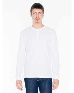 Unisex Classic Thermal Long-Sleeve Henley